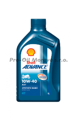 SHELL ADVANCE 4T AX7 10W-40