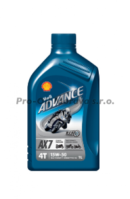 SHELL ADVANCE 4T AX7 15W-50